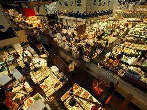 Fulton Fish Market in New York City
