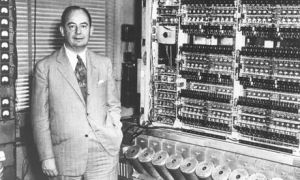 John von Neumann and the IAS computer, 1945