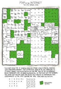 XKCD's Map of the Internet, 2006