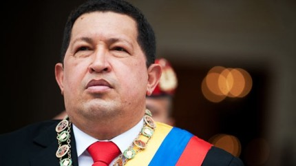 Hugo Chavez not letting grey get the best of him