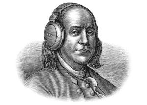 Ben Franklin Koss Headphones